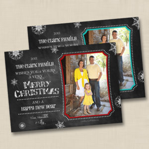 8x8 Chalkboard Holiday 1&2