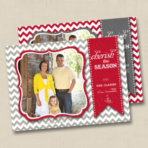 8x8 Cherish Season Chevron Holiday 1&2
