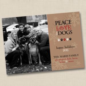 8x8 Peace, Love & Dogs 1