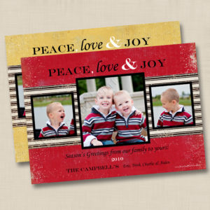 8x8 Peace, Love & Joy 1&2
