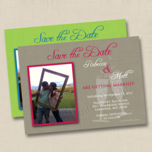 8x8 Champagne Save the Date 1&2