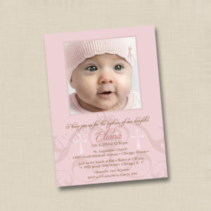 8x8 Cross Motif Baptism 1
