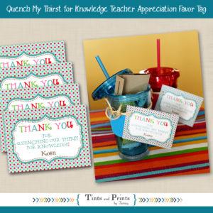 8x8 Etsy Display - Teacher Gifts