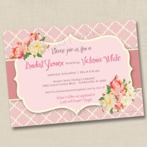 8x8 Floral Quatrofoil Wedding 1