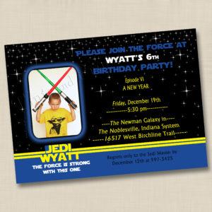 8x8 Jedi Birthday 1