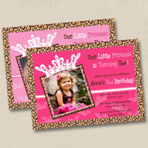 8x8 Little Princess Birthday 3&4
