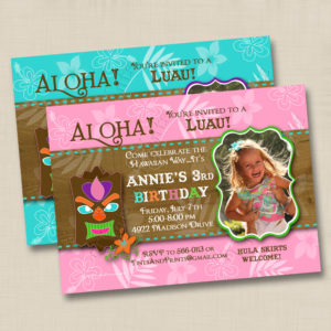 8x8 Luau Birthday 1,2