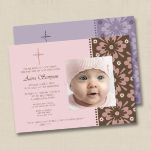 8x8 Perfect Gift Baptism 1&2