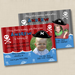 8x8 Pirate Birthday 1