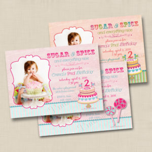 8x8 Sugar and Spice Birthday 1&2