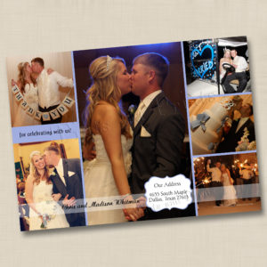 8x8 Thank U Wedding Photos 1