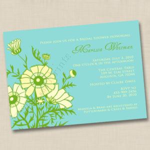8x8 Wild Flower Bouquet Wedding 1