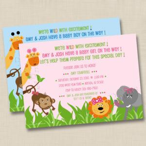 8x8 Zoo Animals Baby 1&2