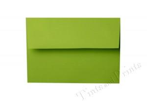 A7 Envelopes green