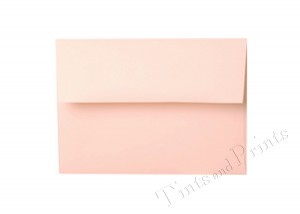 A7 Envelopes pastel pink