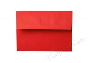 A7 Envelopes red