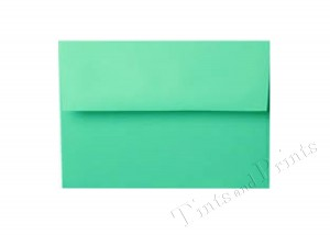 A7 Envelopes turquoise