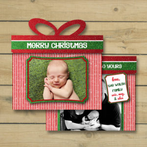 8x8 Etsy Display - Present 1 card