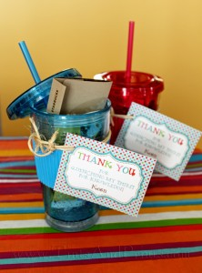 Quench Thirst Teacher Gifts