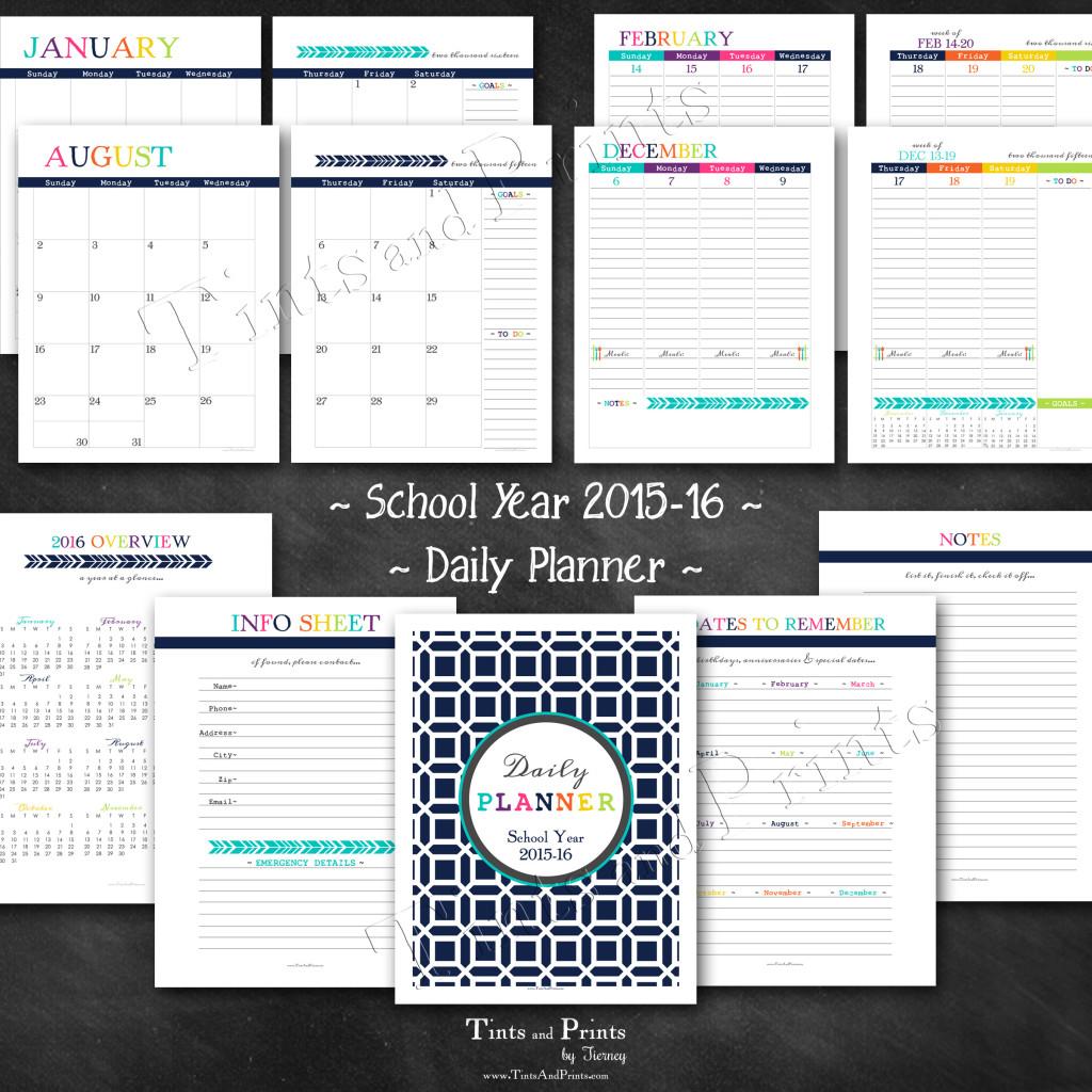 8x8 Etsy T&P Printables Planner 2015 -pg2