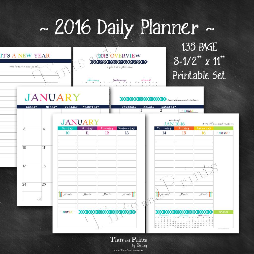 8x8 Etsy T&P Printables Planner 2016 -pg2
